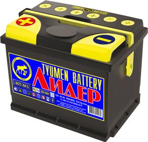 Аккумулятор 6СТ-64 АПЗ «Лидер»