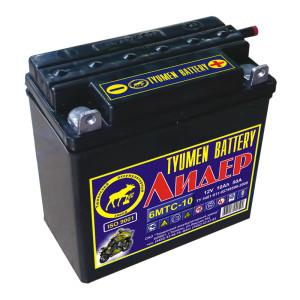 Аккумулятор 6МСТ-10 Лидер