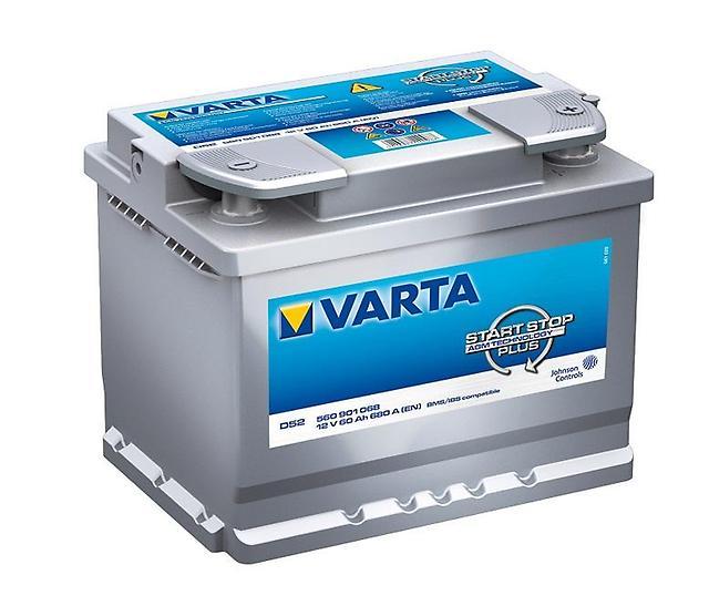 Аккумулятор Varta 60Ah  обр.