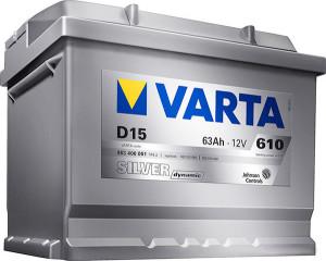 Аккумулятор Varta 61Ah  Silver dynamic
